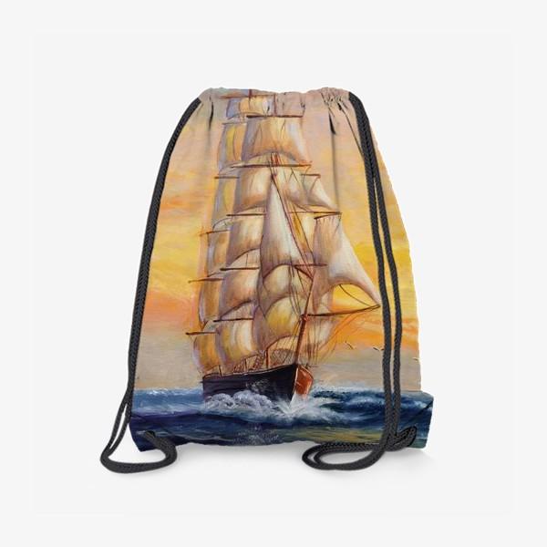Рюкзак «Парусник»