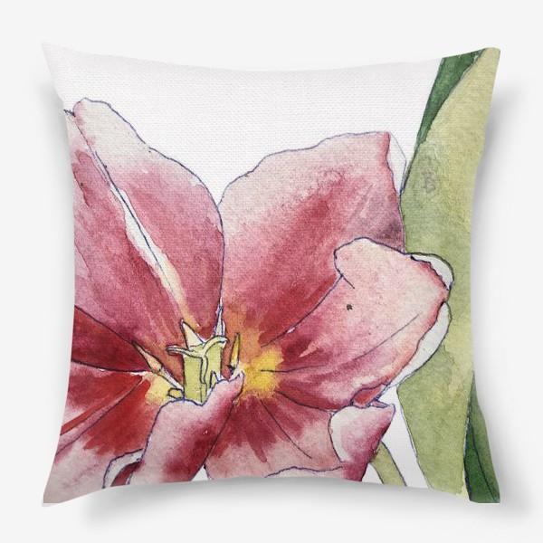 Подушка «тюльпан»