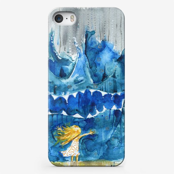 Чехол iPhone «Иногда море злится»
