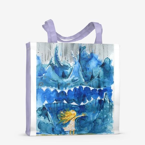 Сумка-шоппер «Иногда море злится»