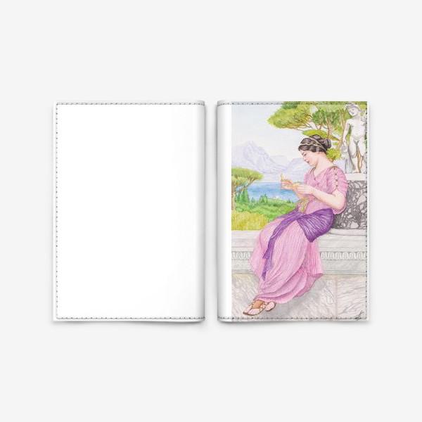 Обложка для паспорта «Акварельная репродукция Дж. Уил. Годварда»