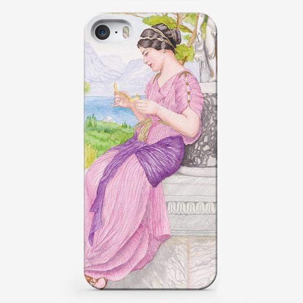 Чехол iPhone «Акварельная репродукция Дж. Уил. Годварда»