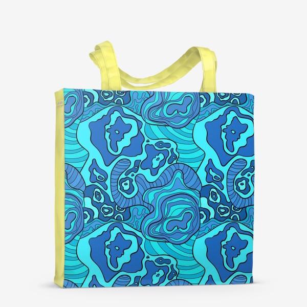 Сумка-шоппер «Бушующее море»