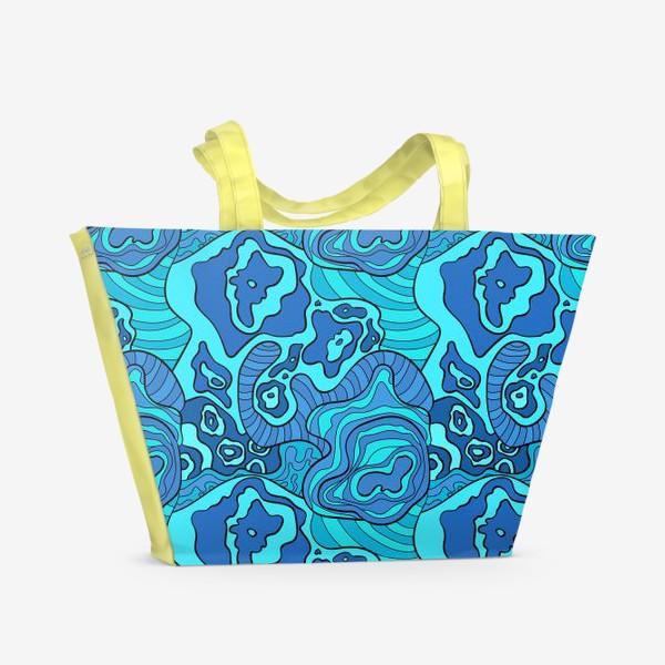 Пляжная сумка «Бушующее море»