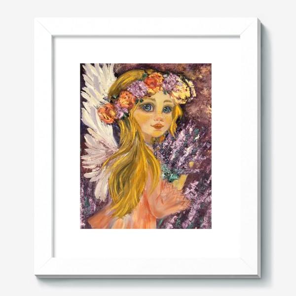 Картина «Лавандовый ангел»