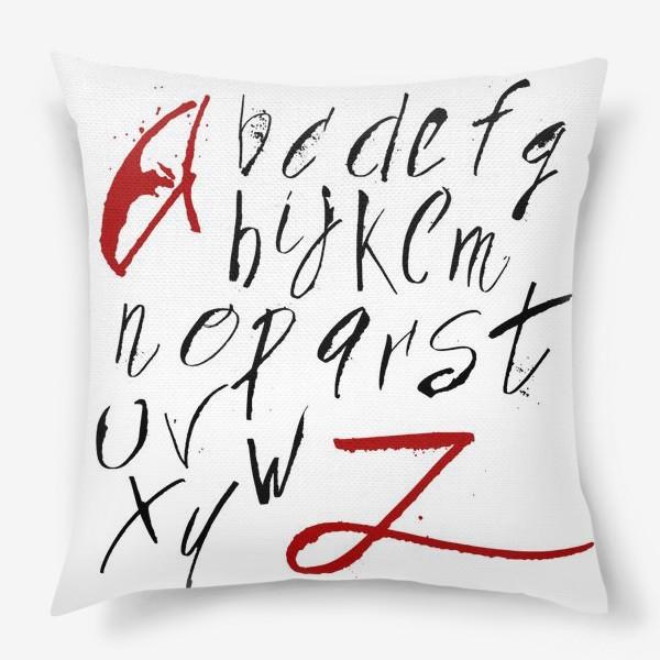 Подушка «Алфавит»