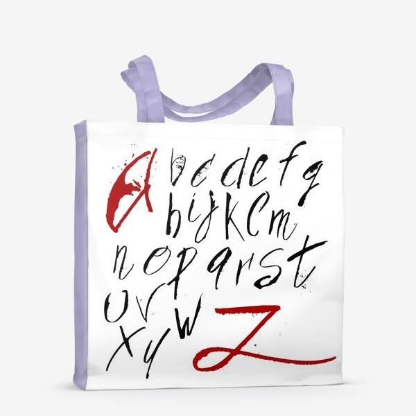 Сумка-шоппер «Алфавит»