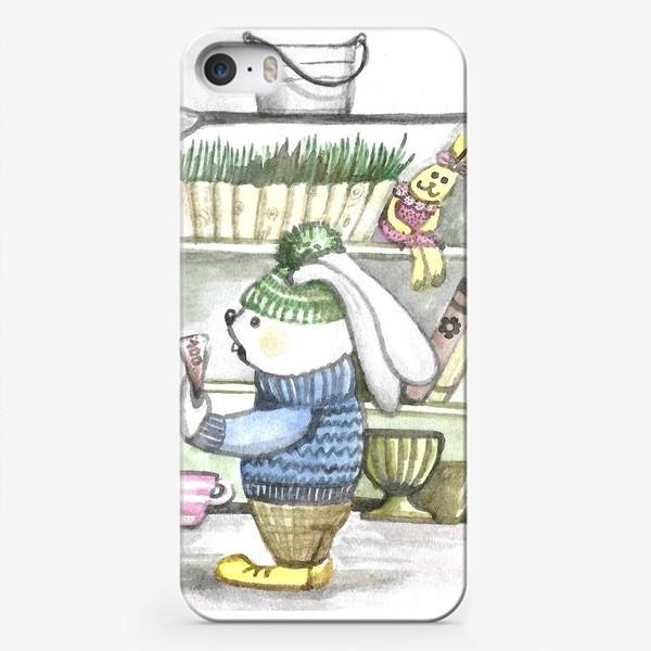 Чехол iPhone «Цветы для мамы)»