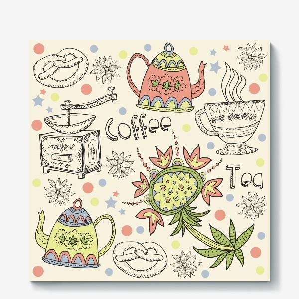 Холст «Coffee Tea»