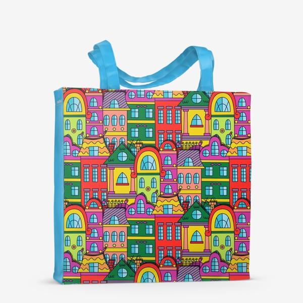 Сумка-шоппер «Старый сказочный город»