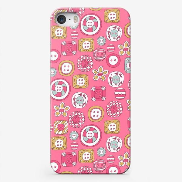 Чехол iPhone «Пуговички»