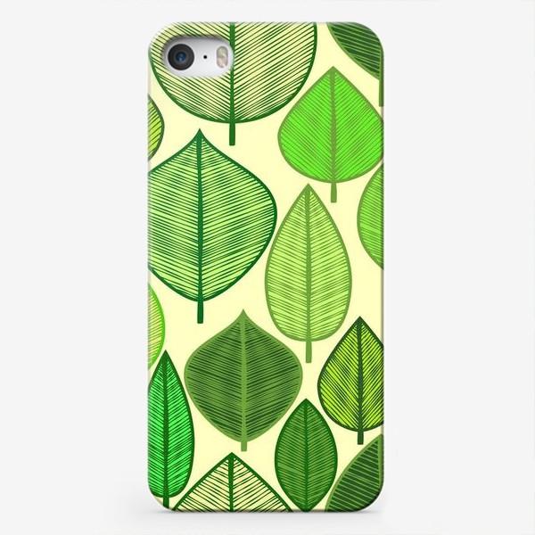 Чехол iPhone «Green rain »