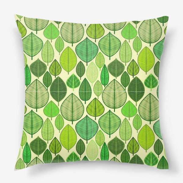 Подушка «Green rain »