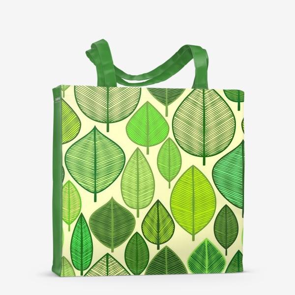 Сумка-шоппер «Green rain »