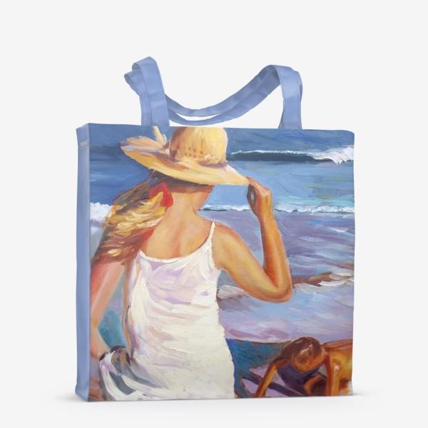 Сумка-шоппер «На пляже»