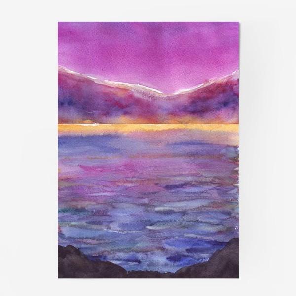 Постер «закат на море 2»