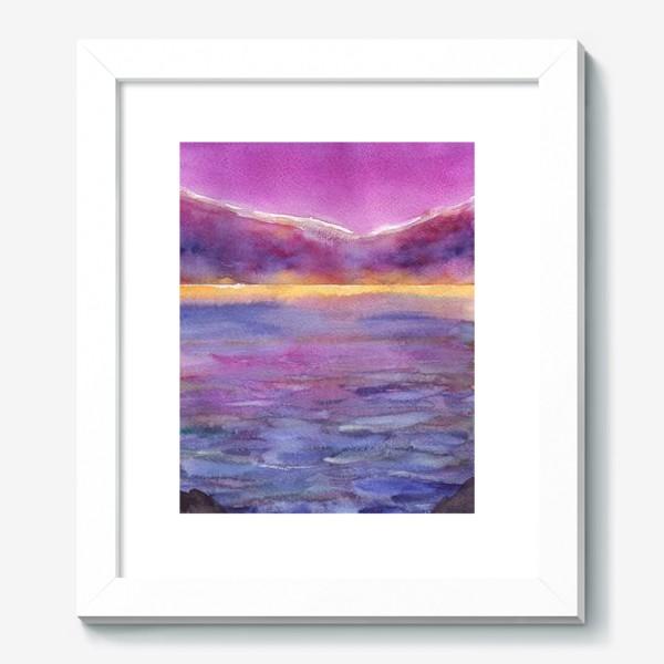 Картина «закат на море 2»