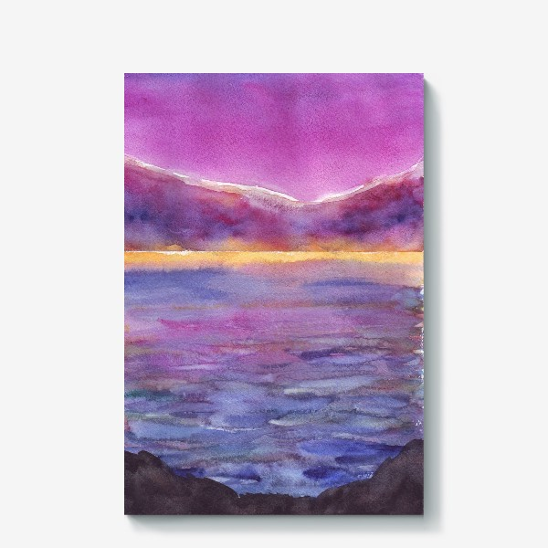 Холст «закат на море 2»