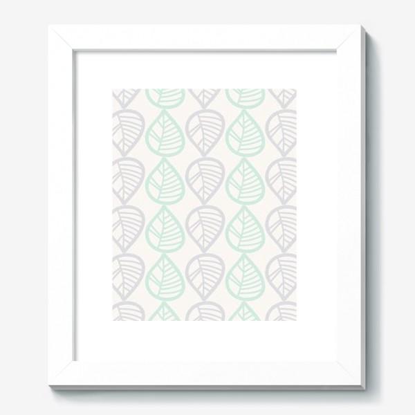 Картина «Паттерн с листьями»