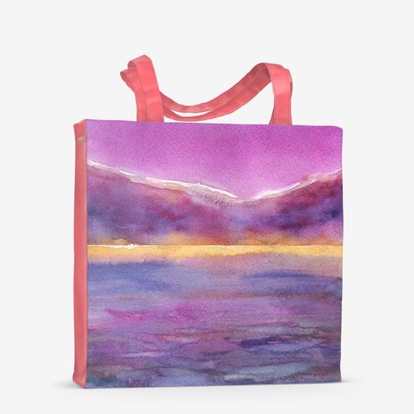 Сумка-шоппер «закат на море 2»