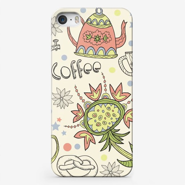 Чехол iPhone «Coffee Tea»