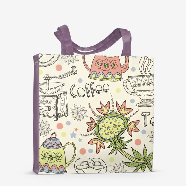 Сумка-шоппер «Coffee Tea»