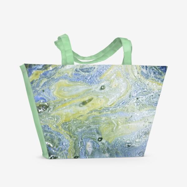 Пляжная сумка «Музыка космоса 1»