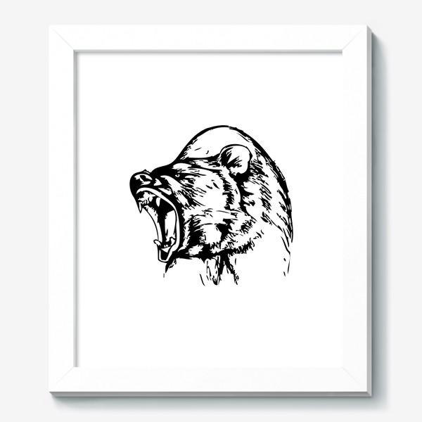 Картина «Паттерн Медведь в ярости»