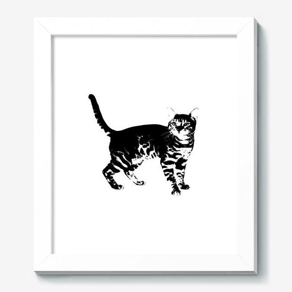 Картина «Принт кошка»
