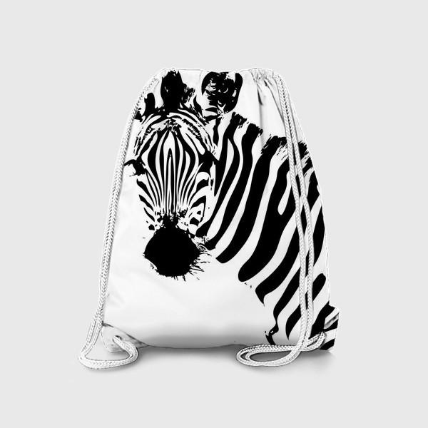Рюкзак «Паттерн зебра»