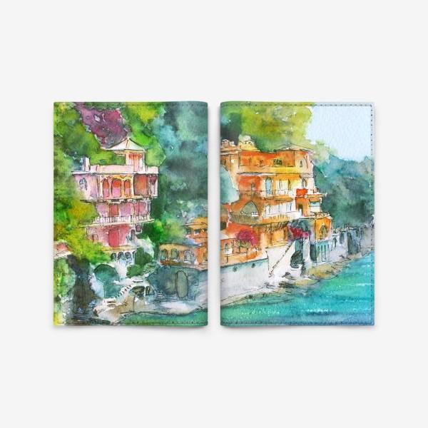 Обложка для паспорта «Dream place»