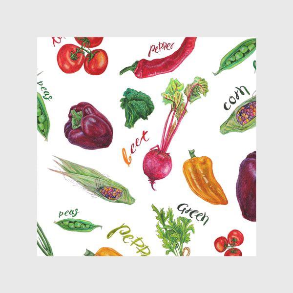 Скатерть «Акварельные овощи»