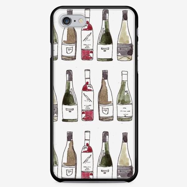 Чехол iPhone «вино»
