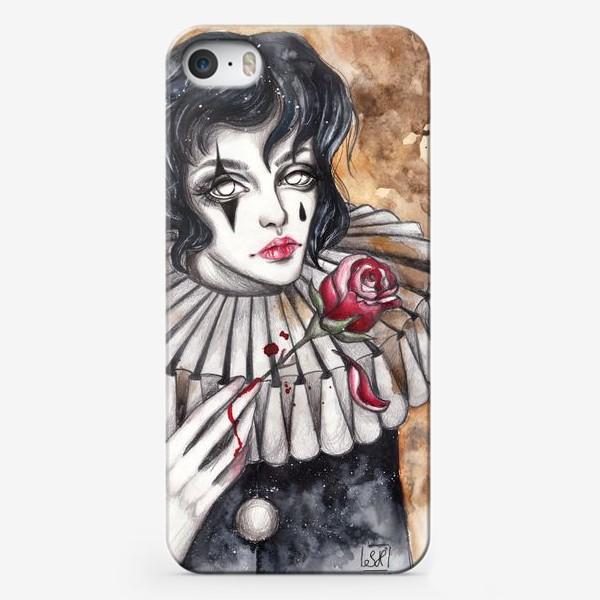 Чехол iPhone «Пьеро »