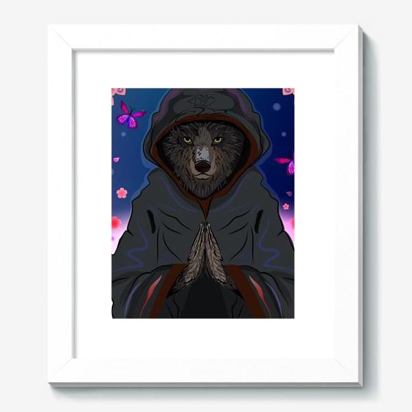 Картина «Волк-отшельник»
