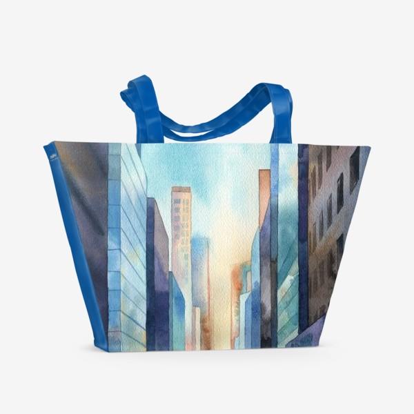 Пляжная сумка «Нью-Йорк. Улицы»
