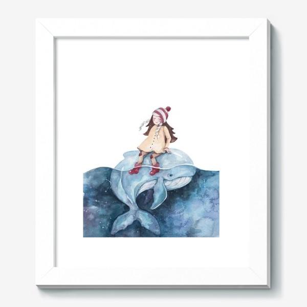 Картина «девочка на ките»