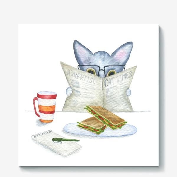 Холст «Завтрак»