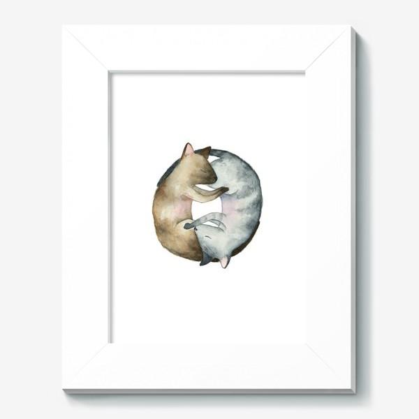 Картина «Спящие коты»