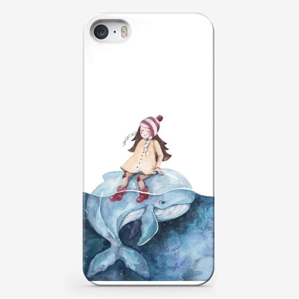 Чехол iPhone «девочка на ките»