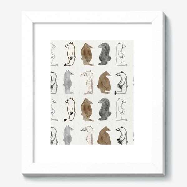 Картина «Много медведей»