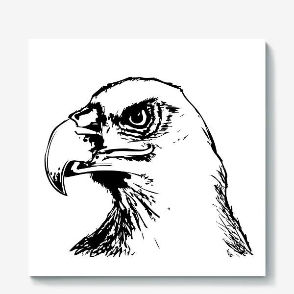 Холст «Паттерн орел»