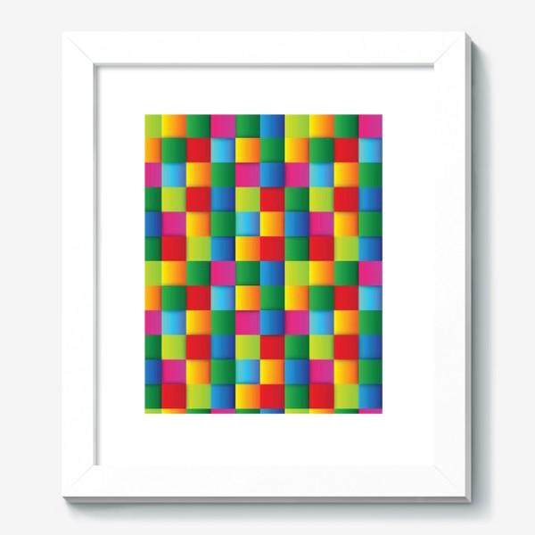 Картина «Яркие квадраты»