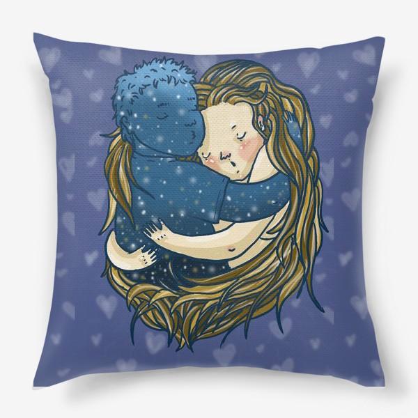 Подушка «Ты мой мир»