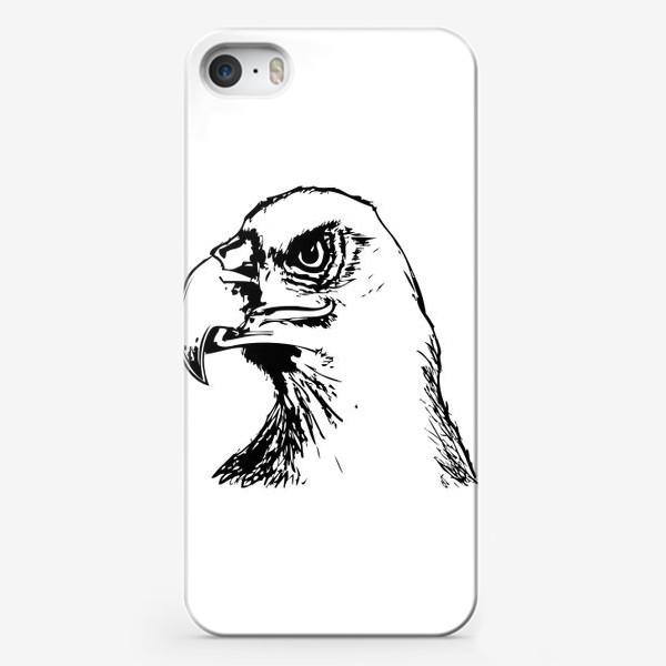 Чехол iPhone «Паттерн орел»
