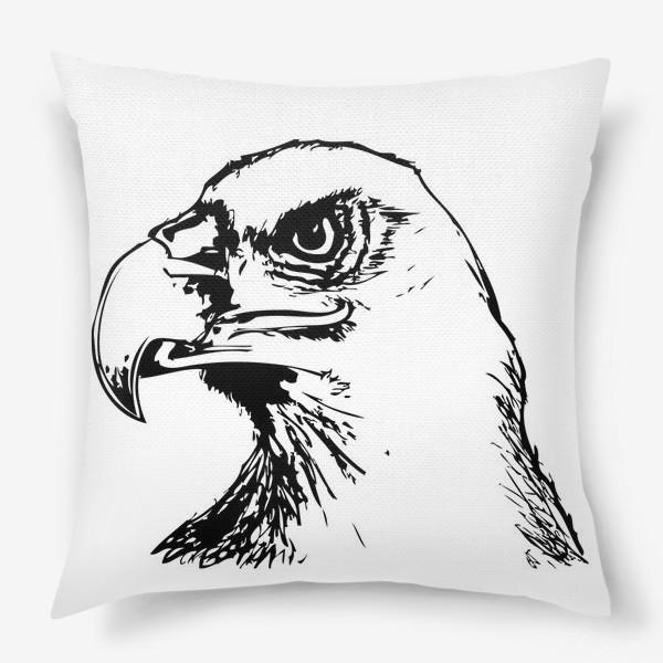 Подушка «Паттерн орел»