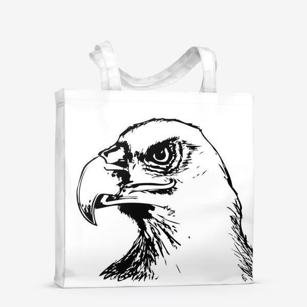 Сумка-шоппер «Паттерн орел»
