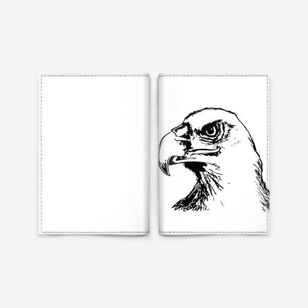 Обложка для паспорта «Паттерн орел»