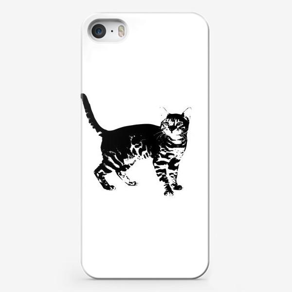 Чехол iPhone «Принт кошка»