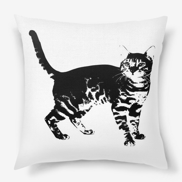 Подушка «Принт кошка»